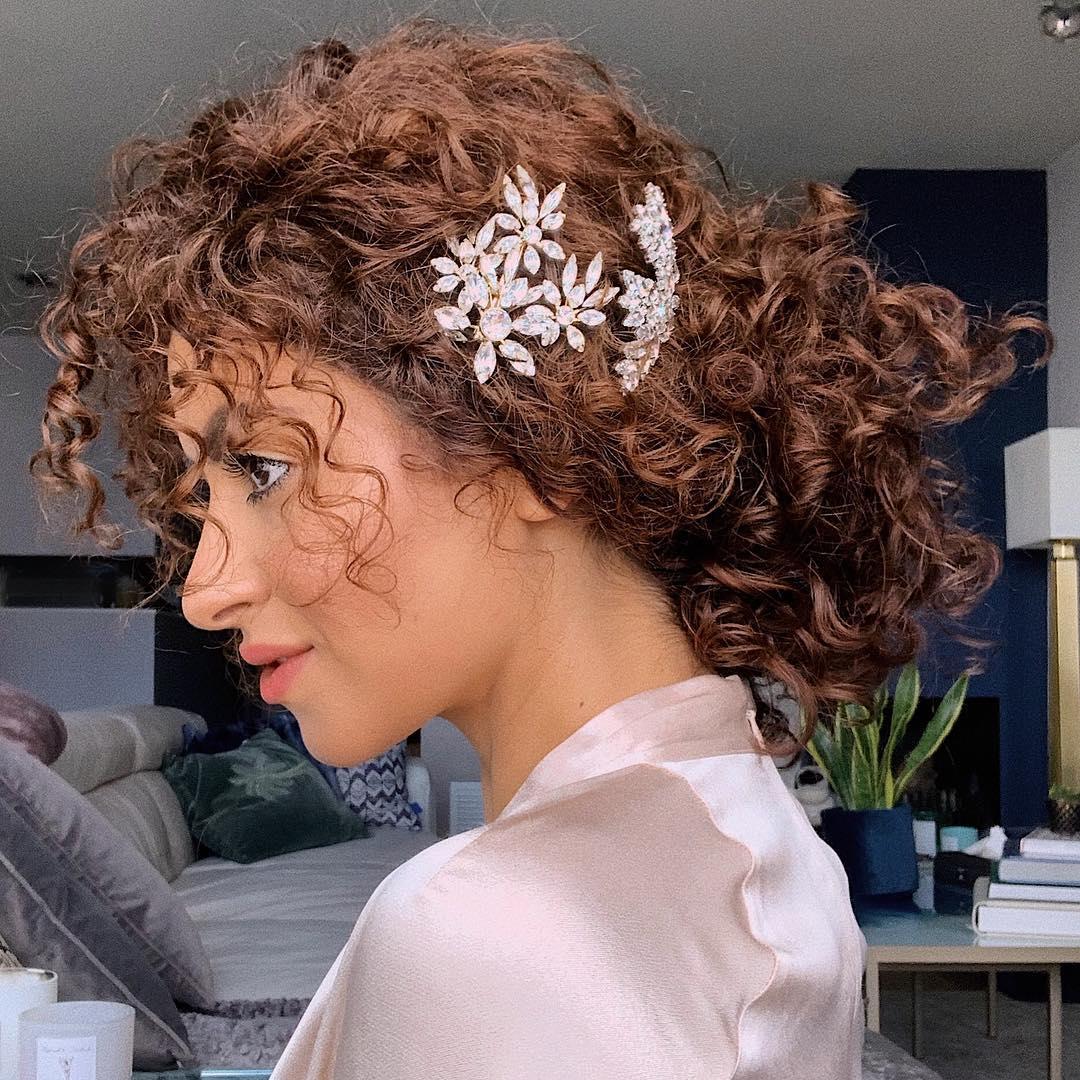 penteados para cabelos cacheados 43