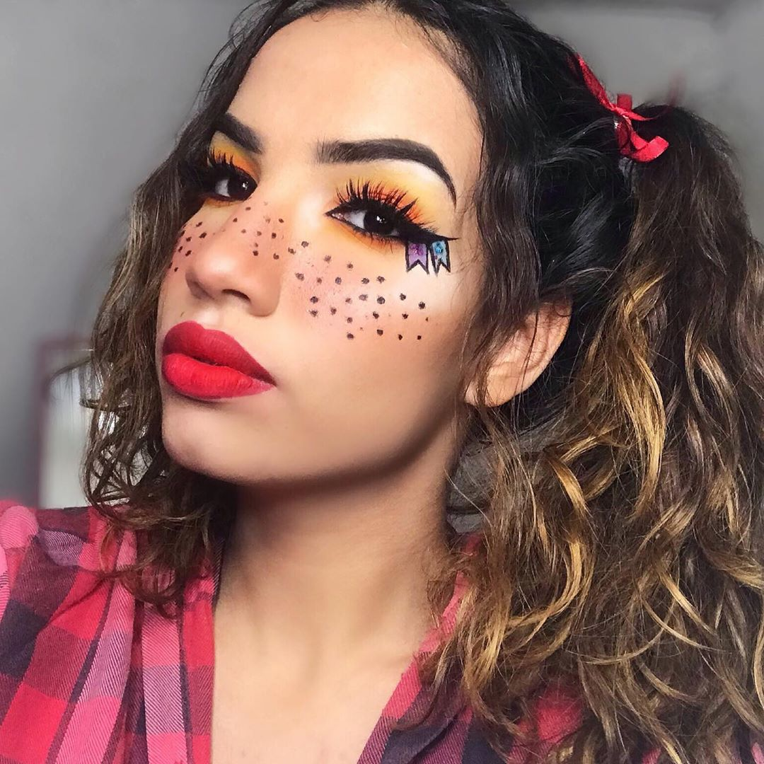 maquiagem de festa junina 4