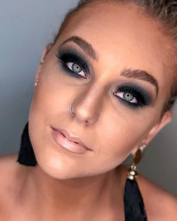 maquiagem para formatura 8