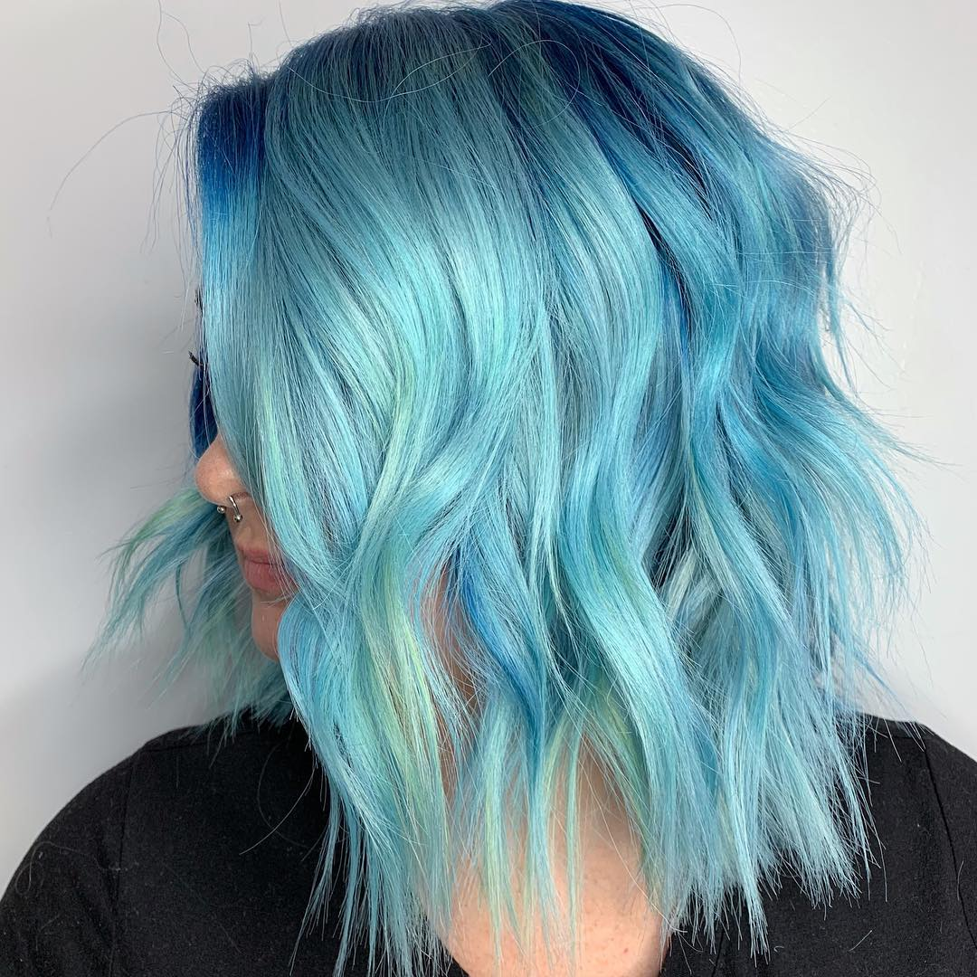 cabelo azul 41