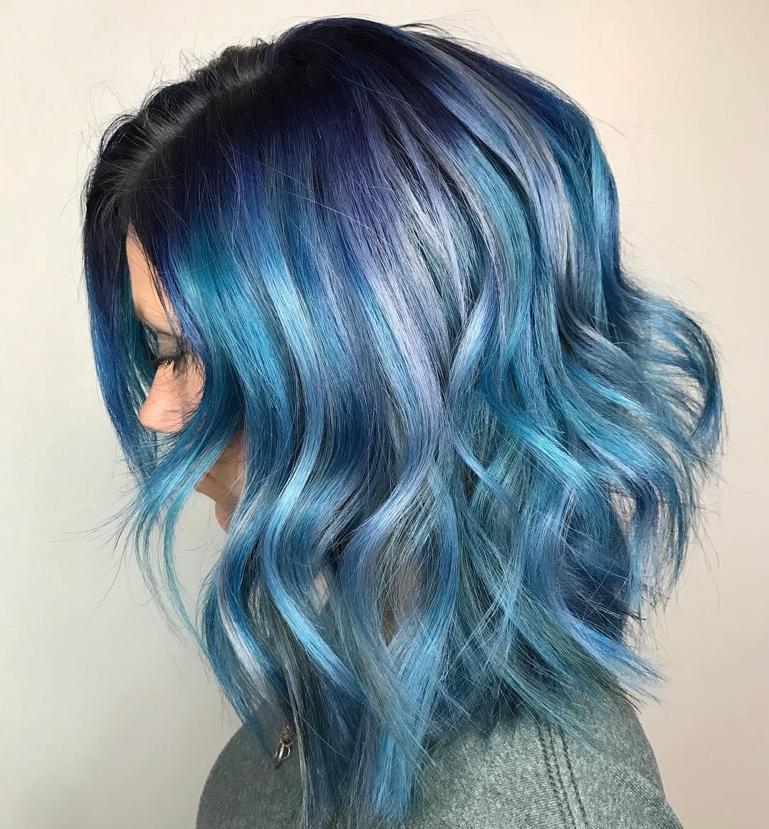 cabelo azul 23