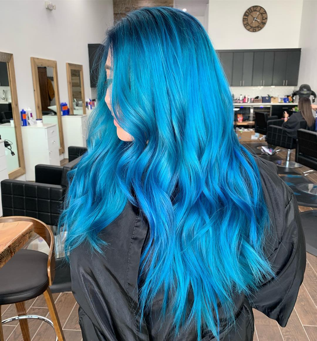 cabelo azul 30