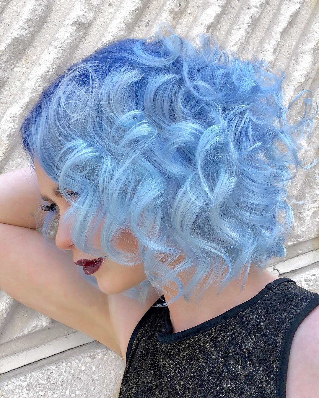 cabelo azul 39