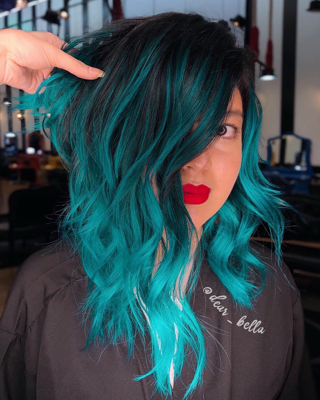 cabelo azul 44