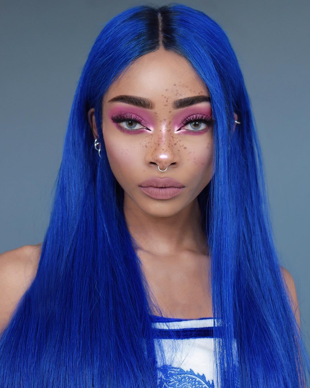 cabelo azul 9