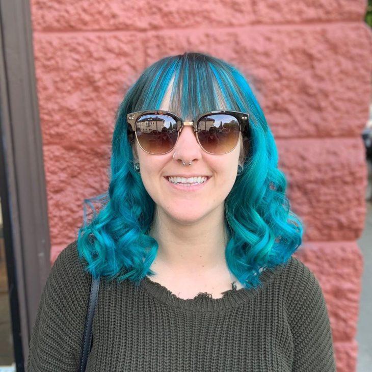 cabelo azul 34