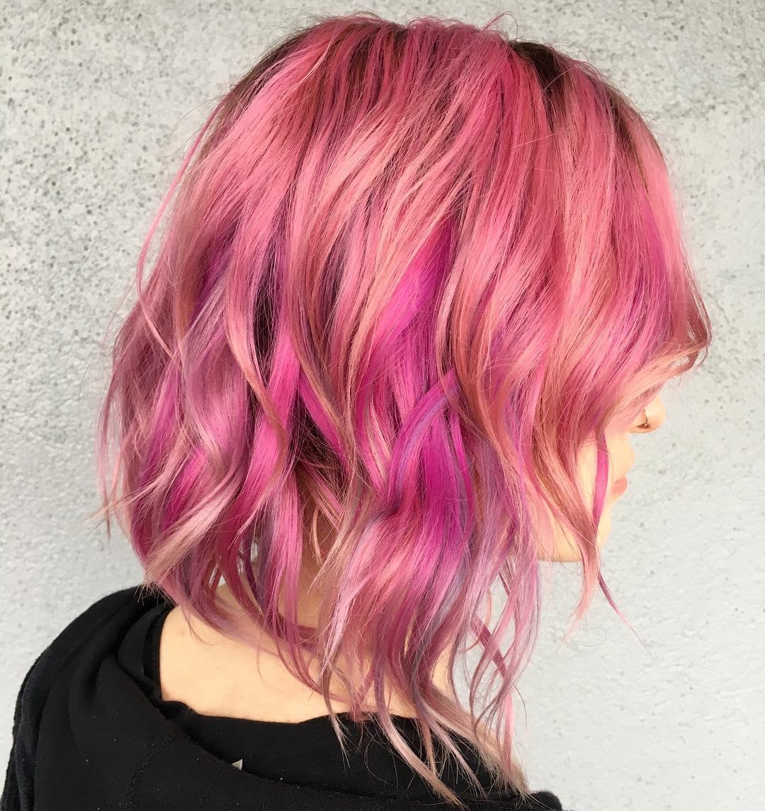 cabelo rosa 64