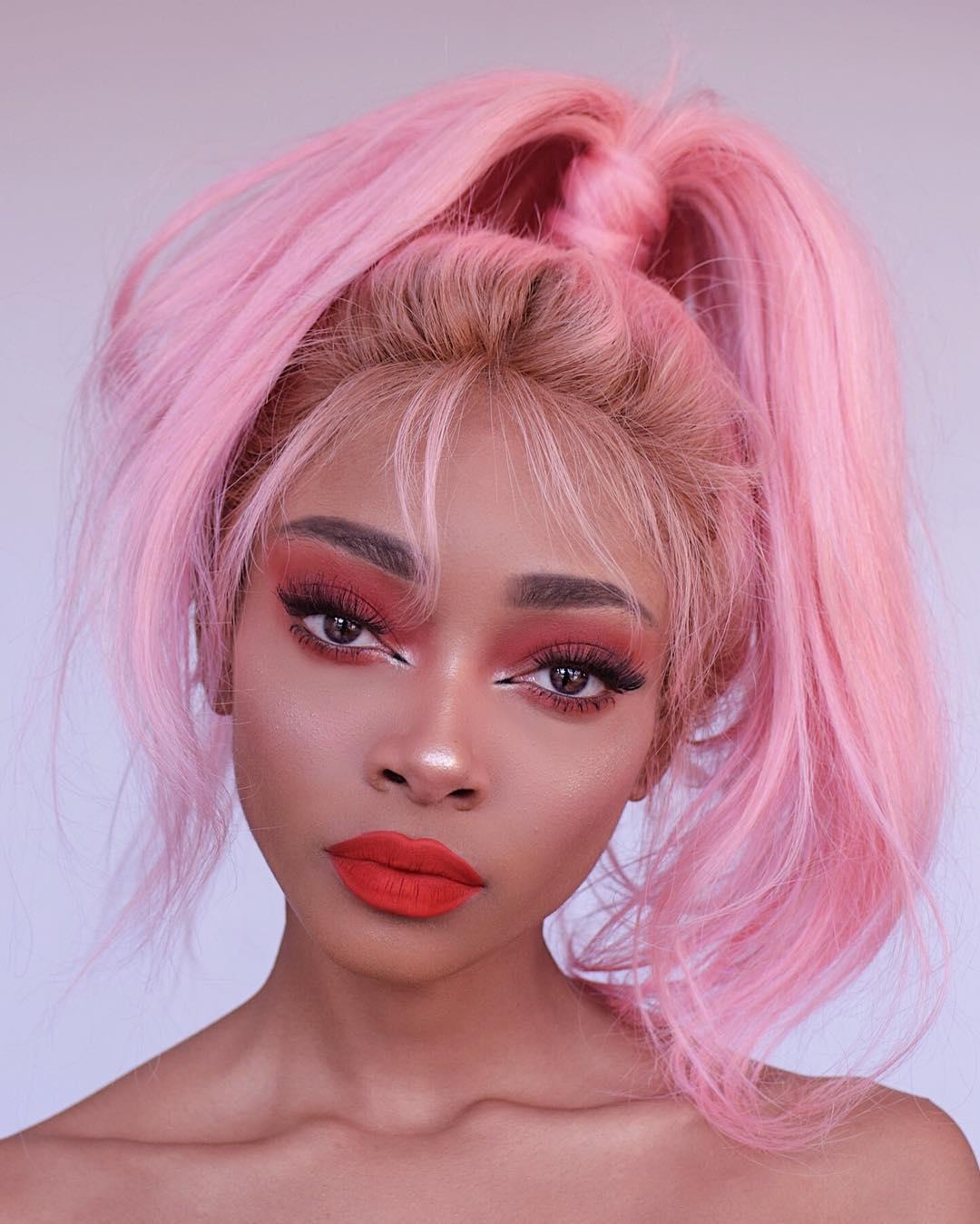 cabelo rosa 38