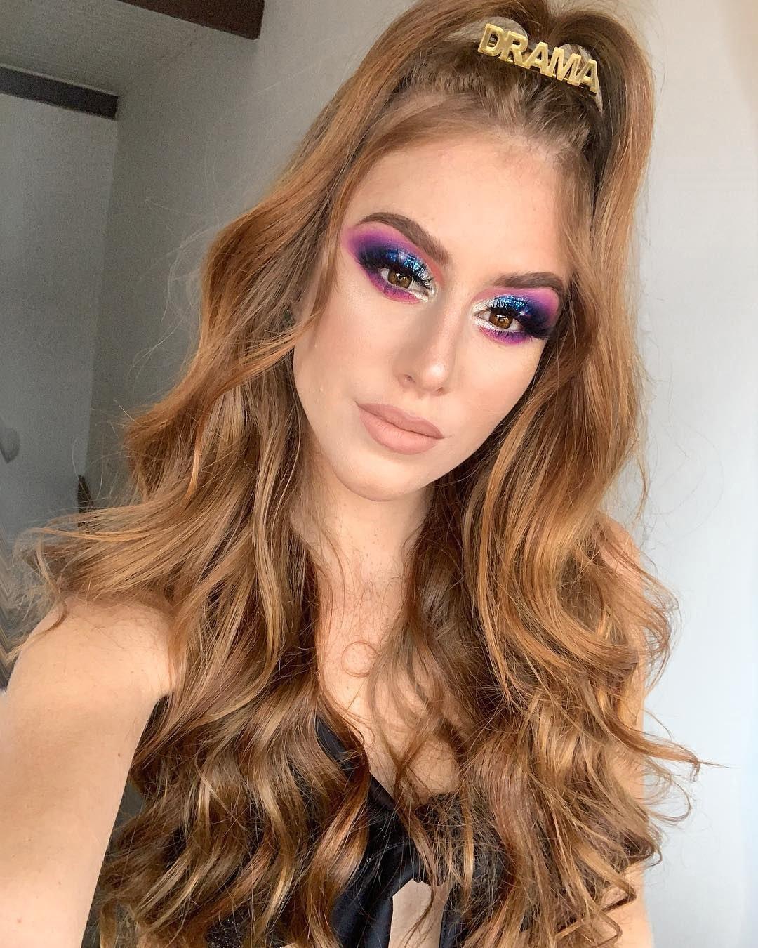 40 inspirações de maquiagem com glitter para brilhar em qualquer ocasião - 13