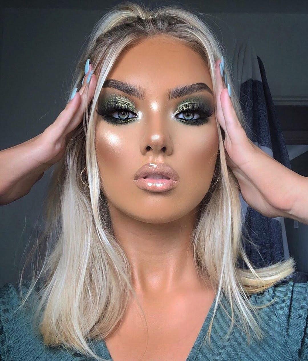 40 inspirações de maquiagem com glitter para brilhar em qualquer ocasião - 21