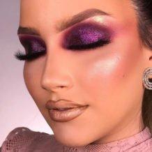 40 ideias de maquiagem roxa para fugir do tradicional e esbanjar estilo - 10