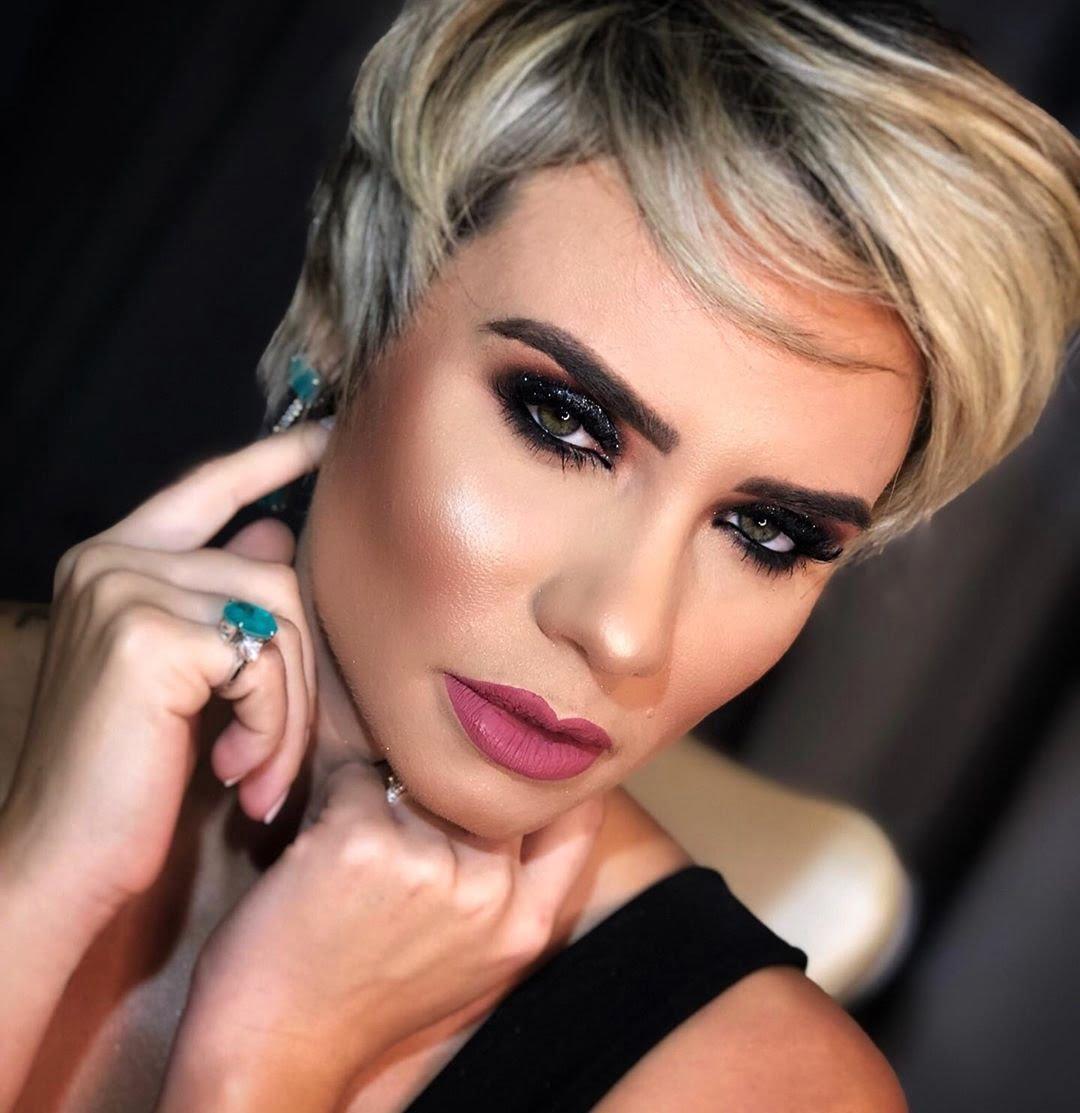 40 inspirações de maquiagem com glitter para brilhar em qualquer ocasião - 25