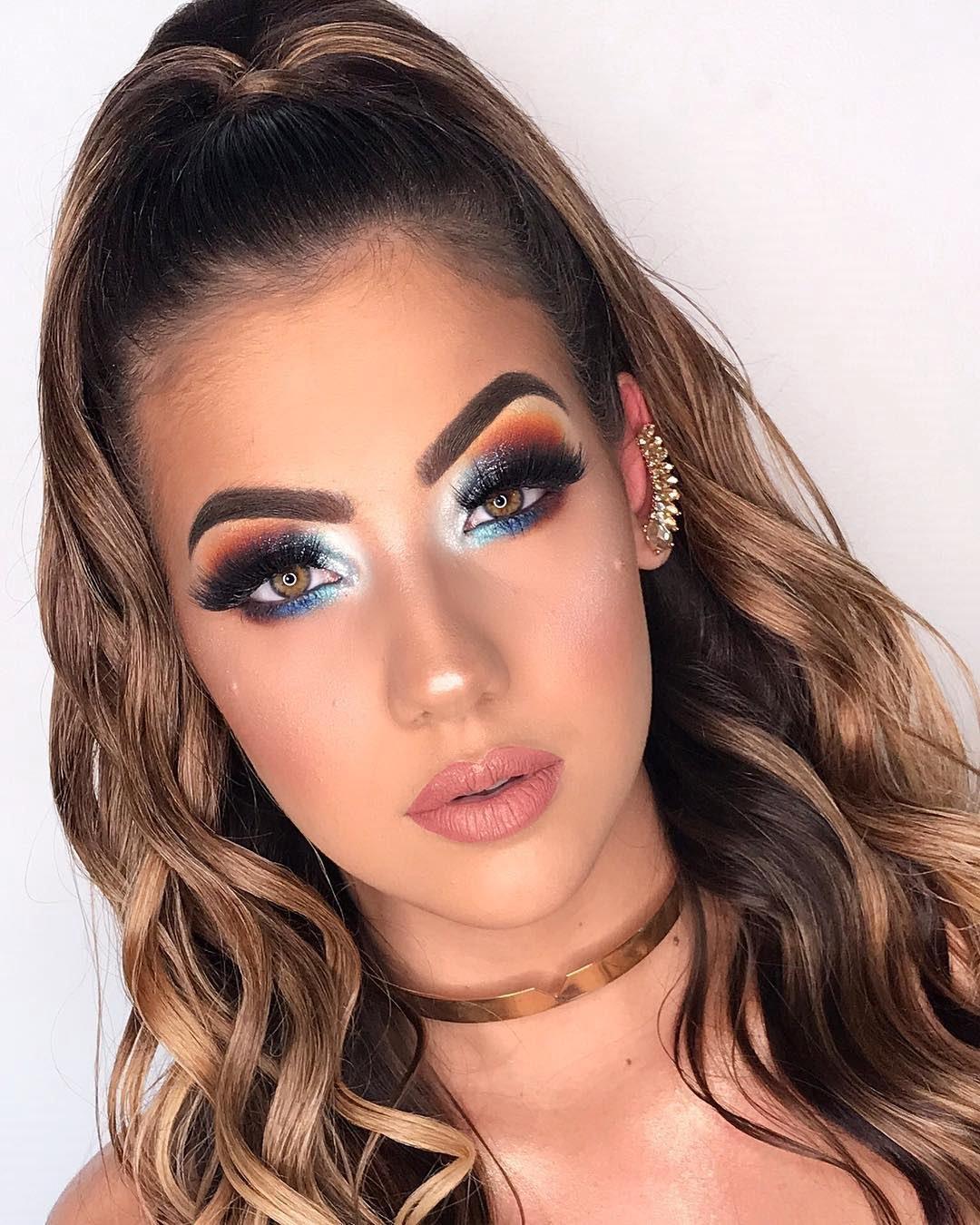 40 inspirações de maquiagem com glitter para brilhar em qualquer ocasião - 42