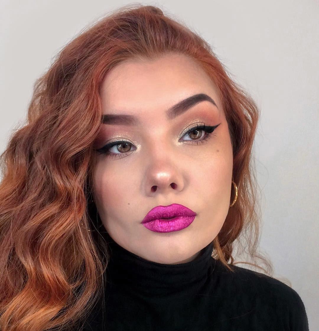 40 inspirações de maquiagem com glitter para brilhar em qualquer ocasião - 43