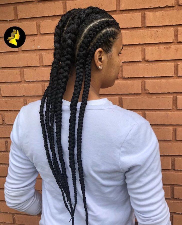Penteados com trança 11