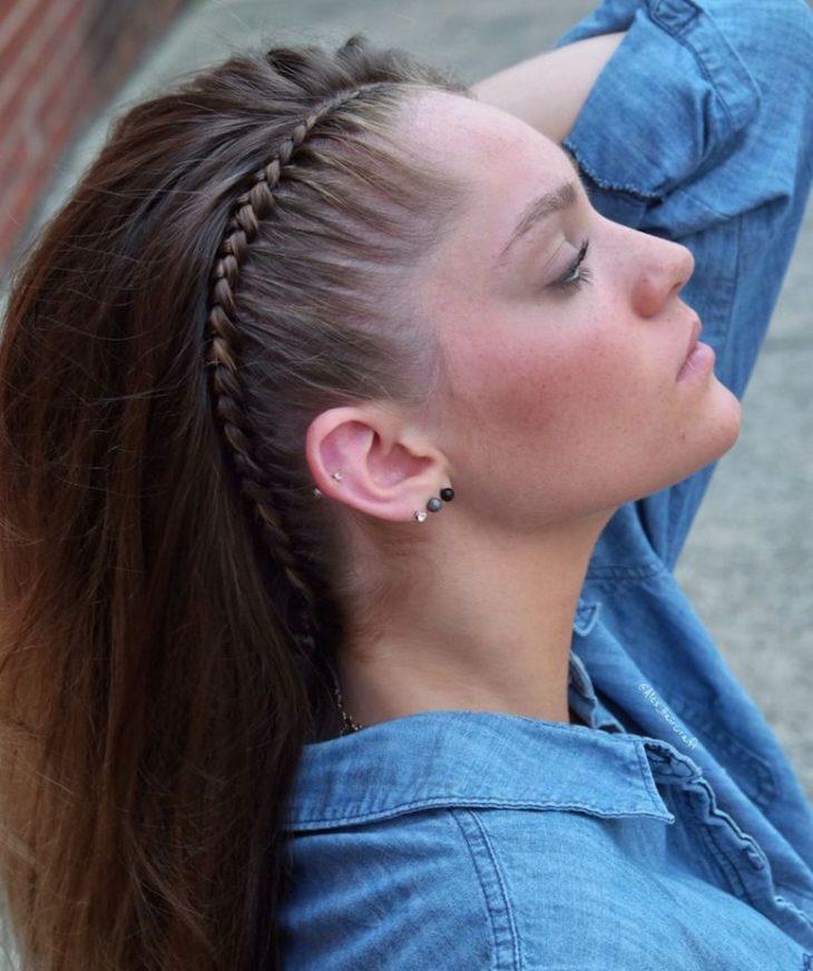 Penteados com trança 13