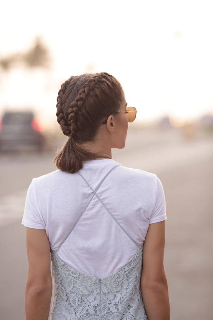 Penteados com trança 52