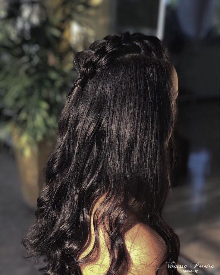 Penteados com trança 35