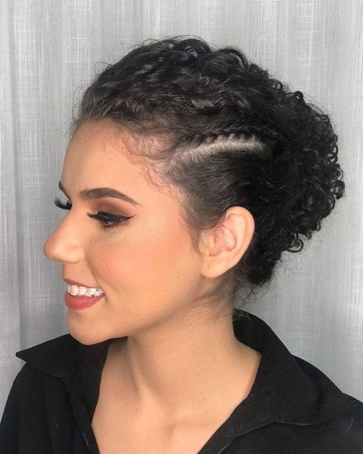 Penteados com trança 10
