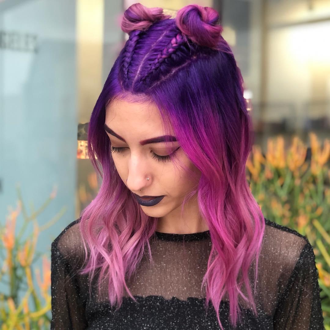 cabelo roxo 19