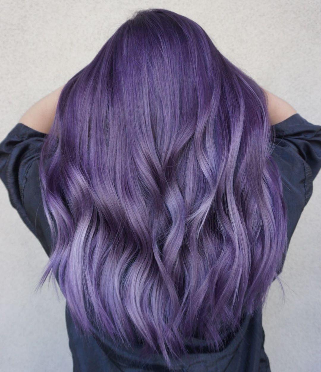 cabelo roxo 45