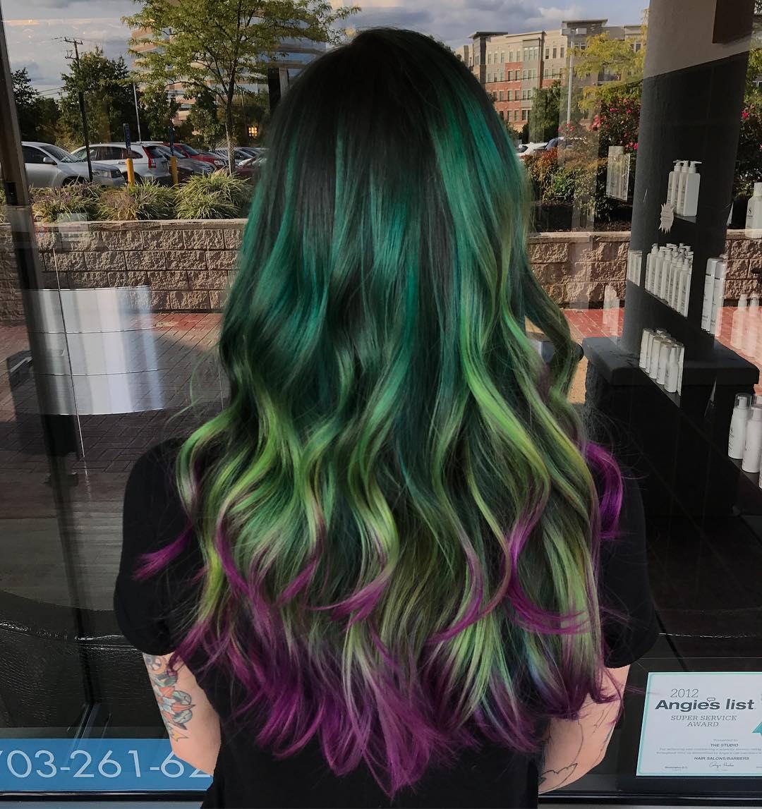 cabelo roxo 55