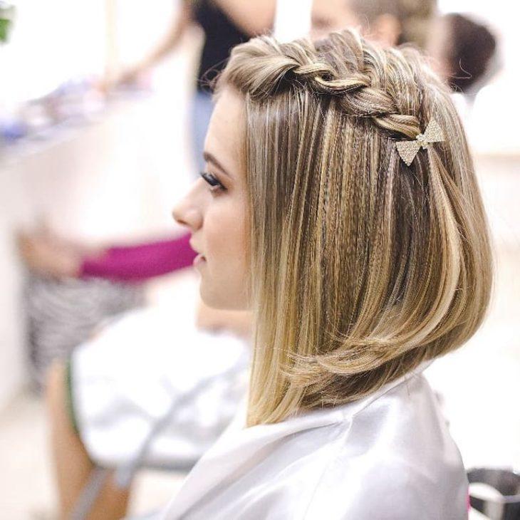 penteados para cabelos curtos 14