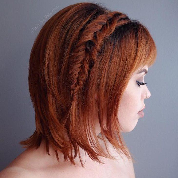 penteados para cabelos curtos 17