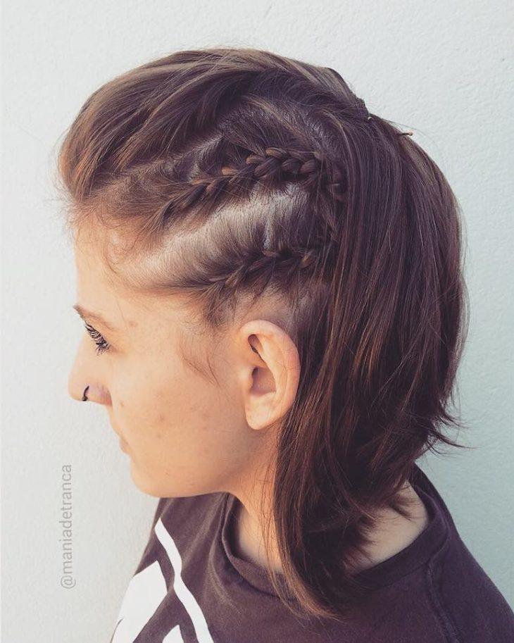 penteados para cabelos curtos 19
