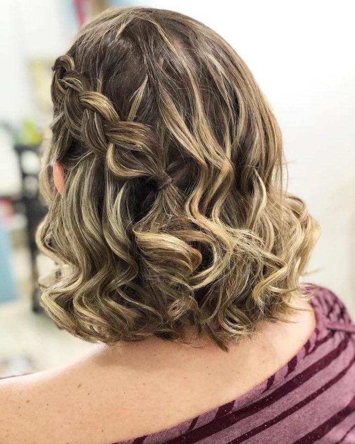 penteados para cabelos curtos 25