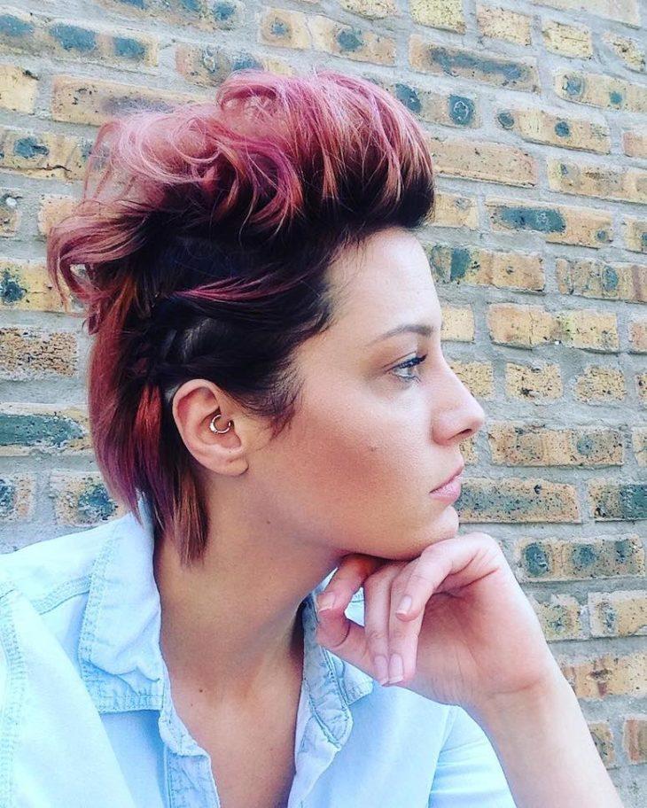 penteados para cabelos curtos 9