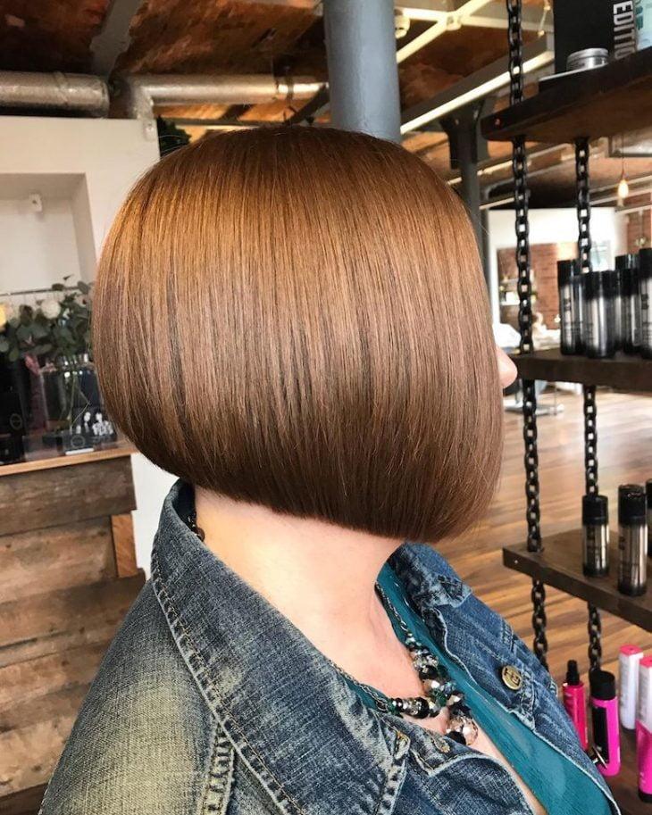 60 inspirações de cortes de cabelo chanel para você mudar o visual - 18
