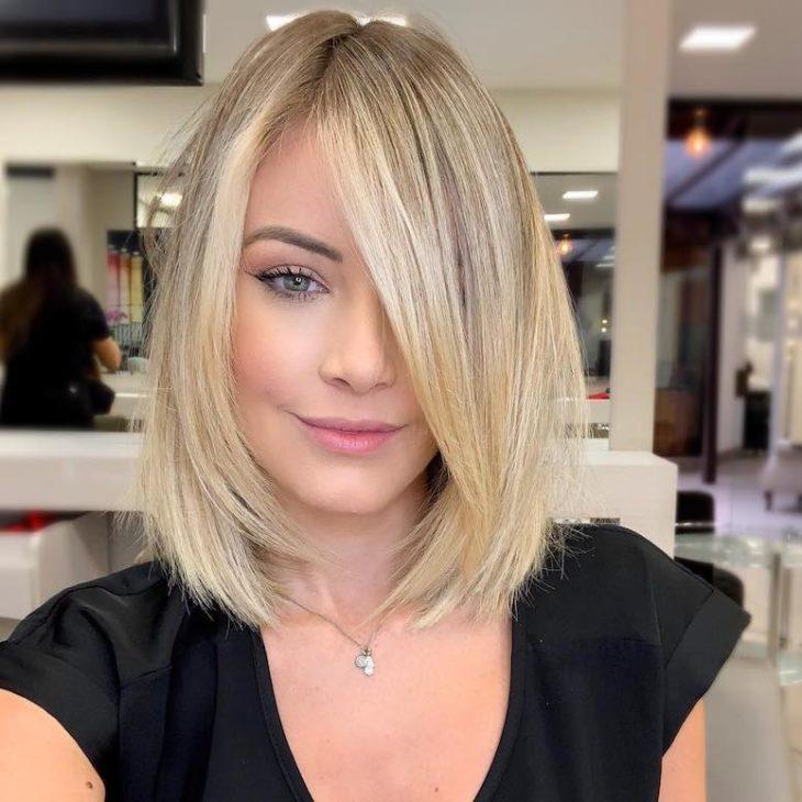 60 inspirações de cortes de cabelo chanel para você mudar o visual - 14