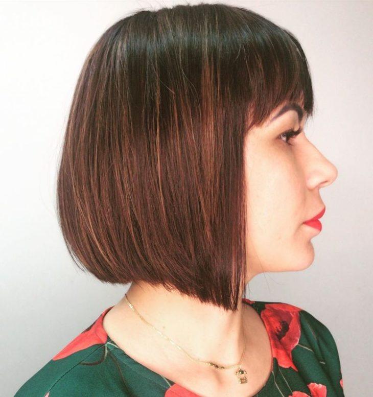 60 inspirações de cortes de cabelo chanel para você mudar o visual - 47