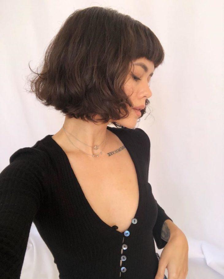 60 inspirações de cortes de cabelo chanel para você mudar o visual - 52