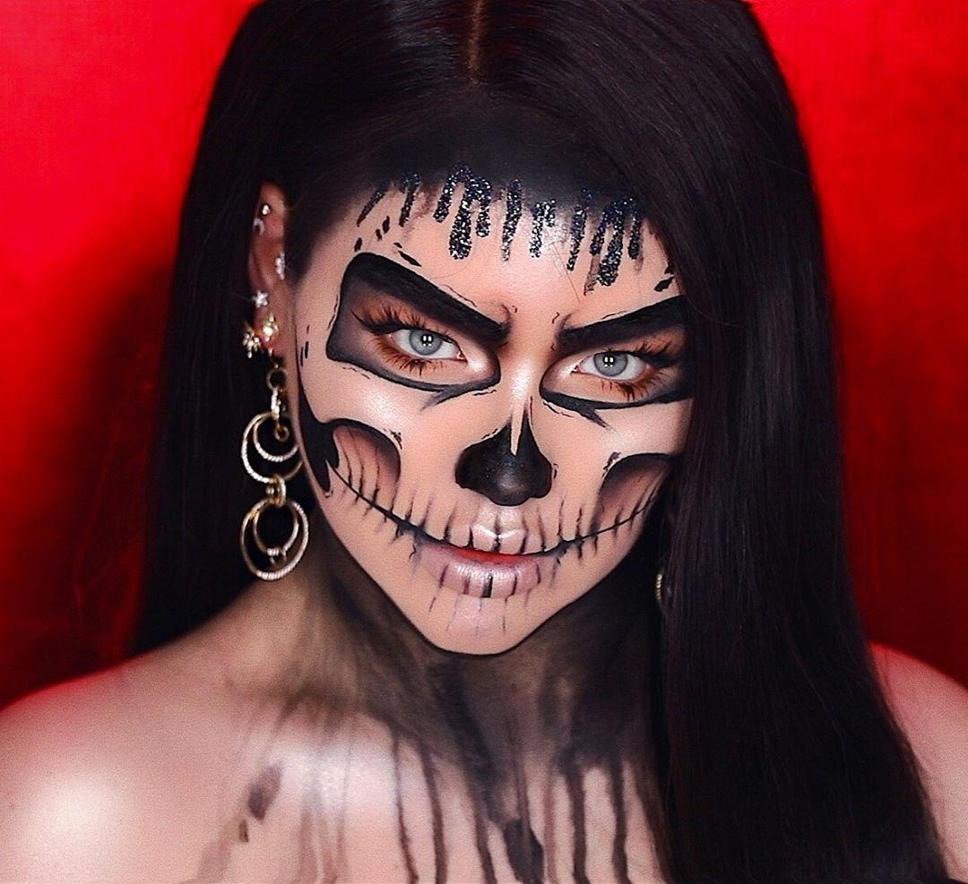 maquiagem de Halloween 83