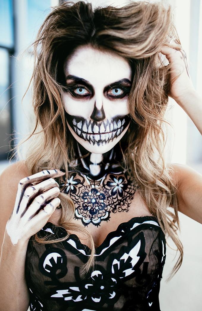 maquiagem de Halloween 84