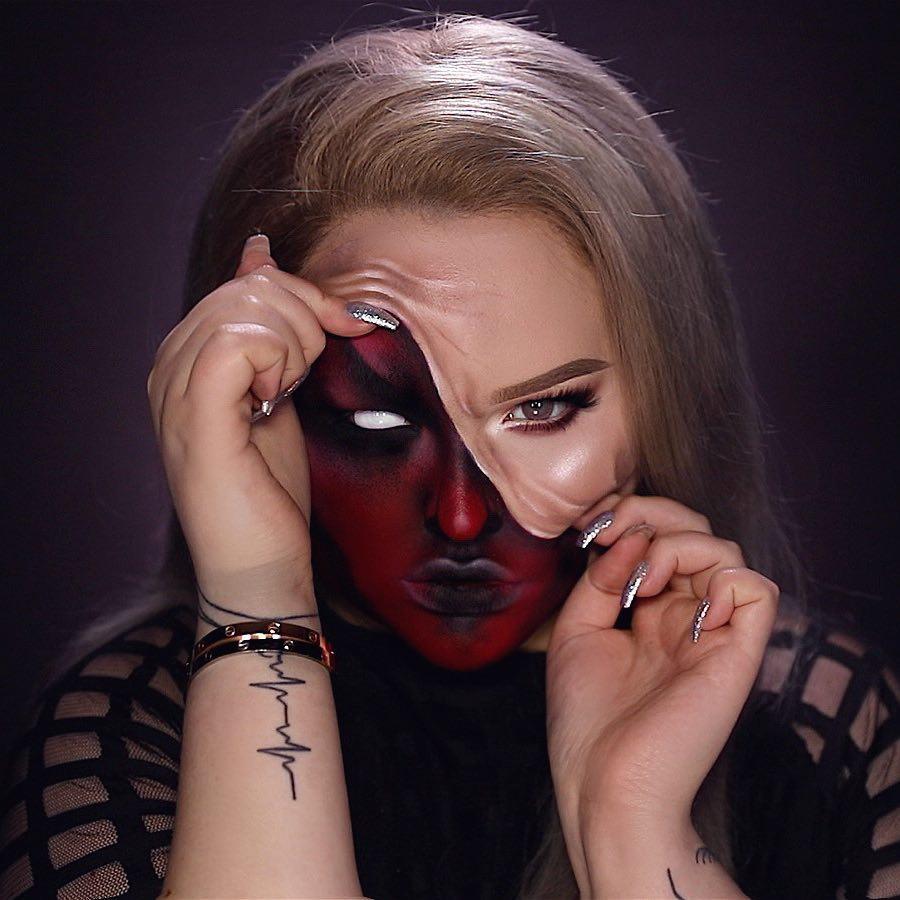 maquiagem de Halloween 3