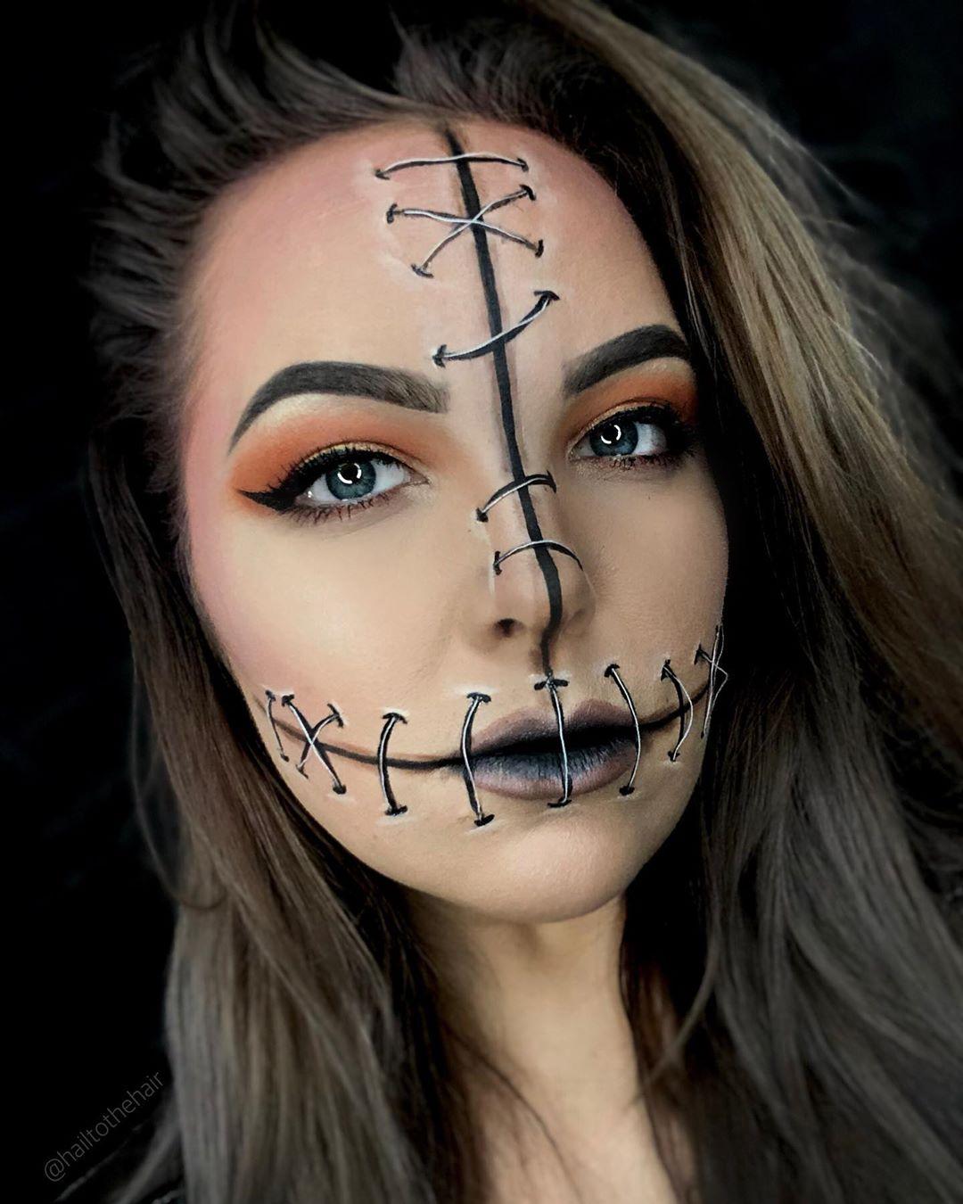 maquiagem de Halloween 2