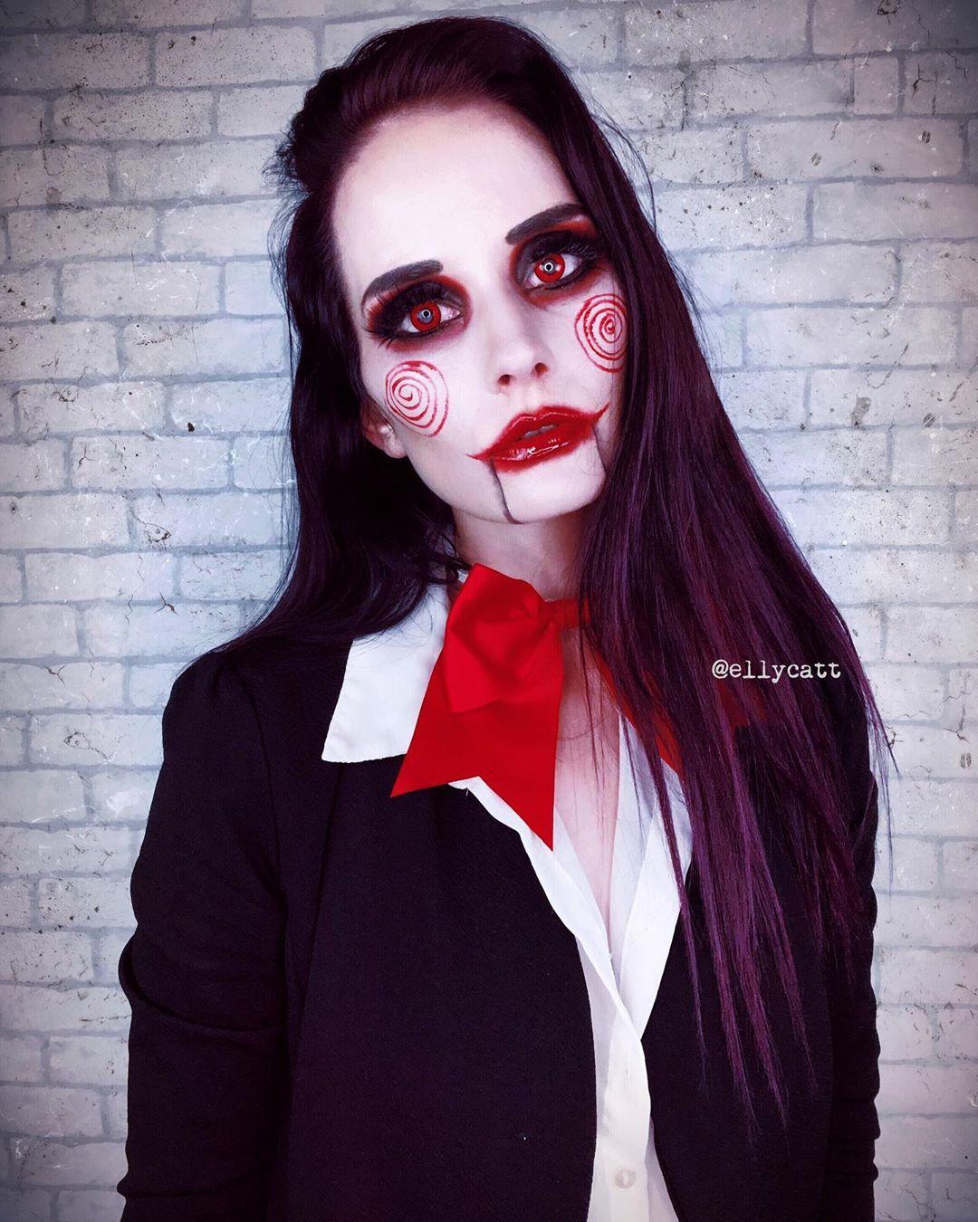 maquiagem de Halloween 29