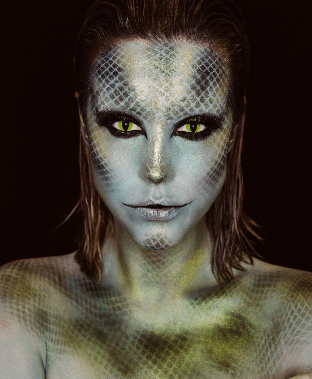 maquiagem de Halloween 94