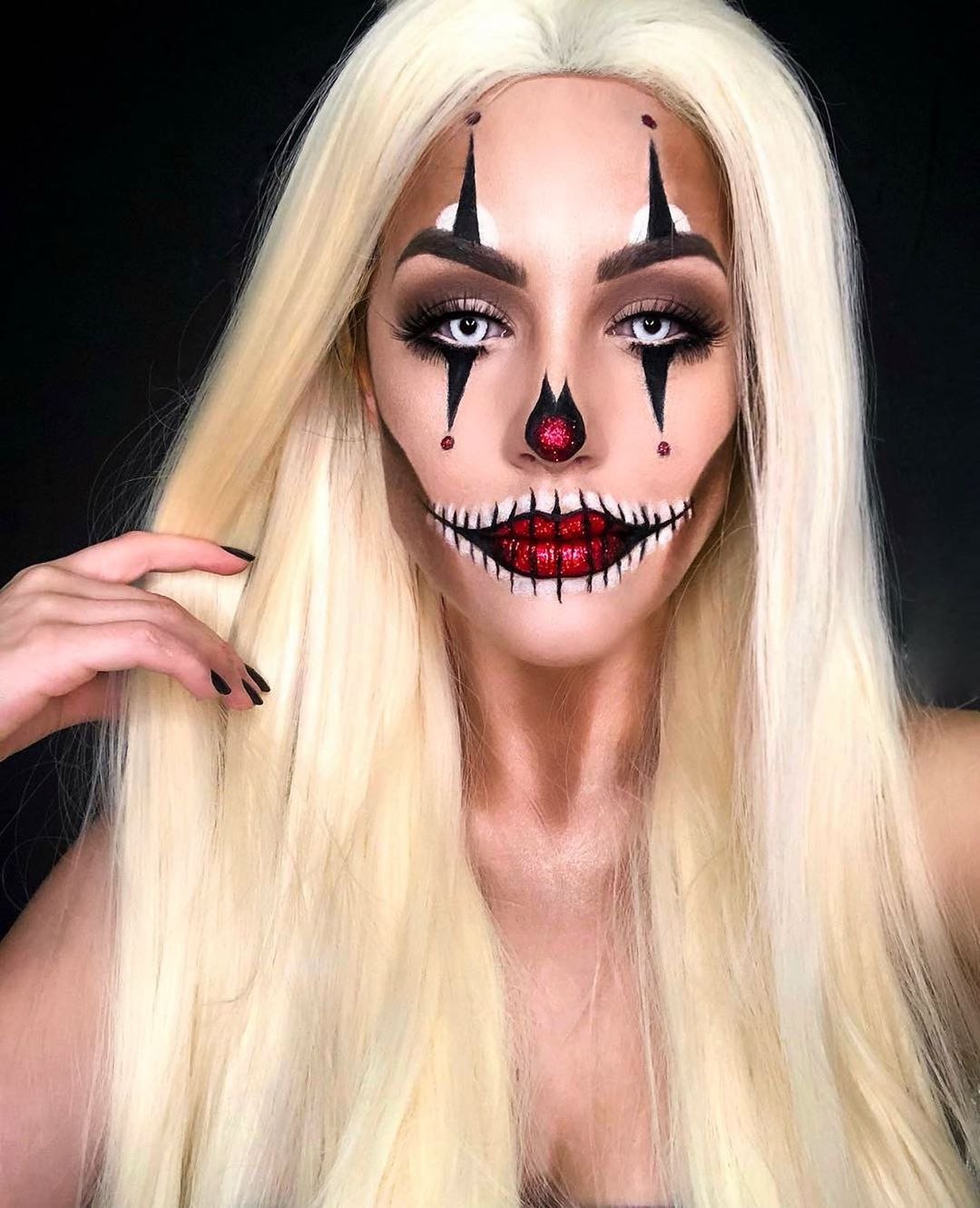 maquiagem de Halloween 56