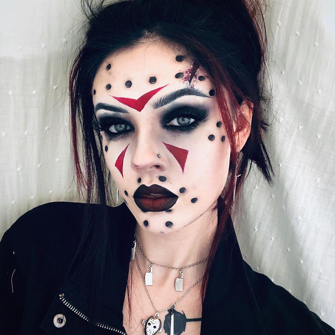 maquiagem de Halloween 30