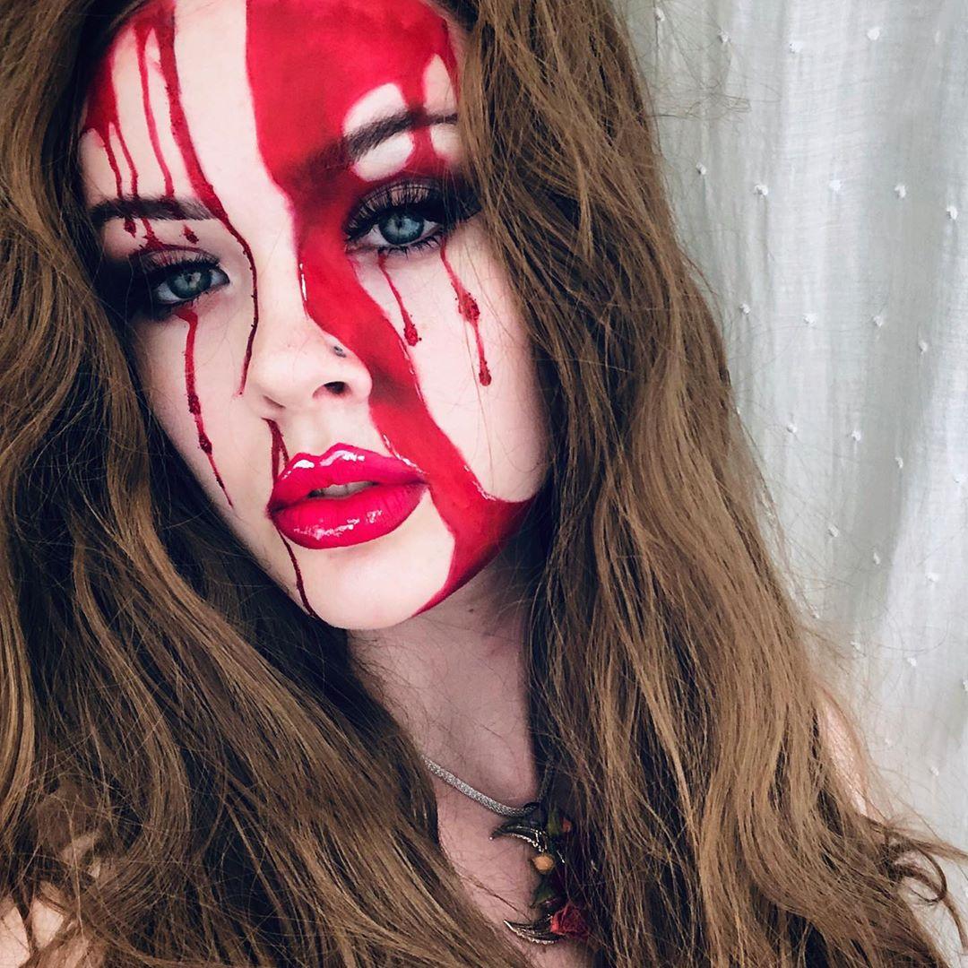 maquiagem de Halloween 15