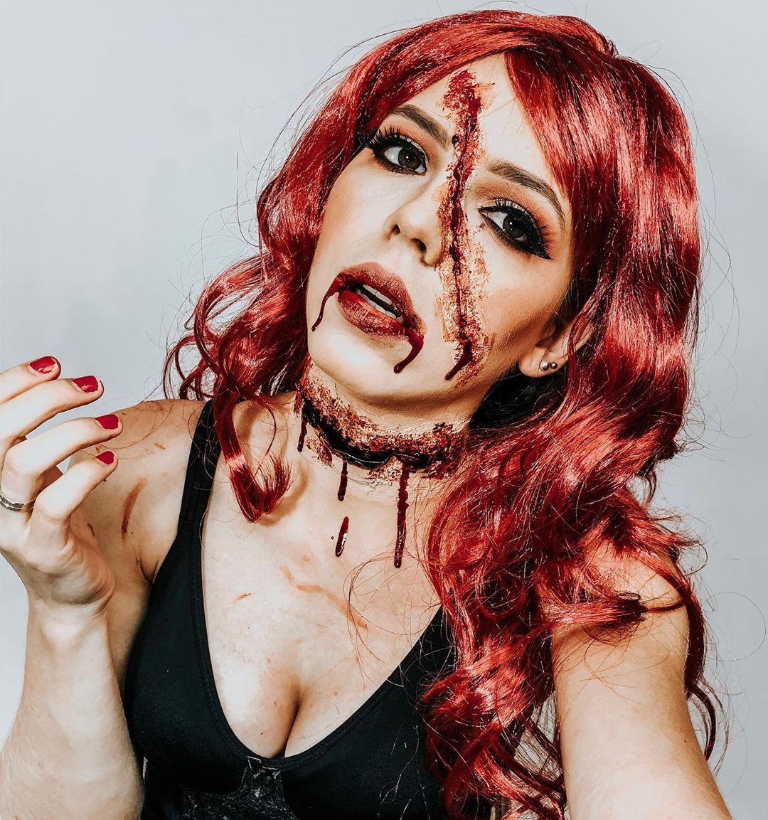 maquiagem de Halloween 73