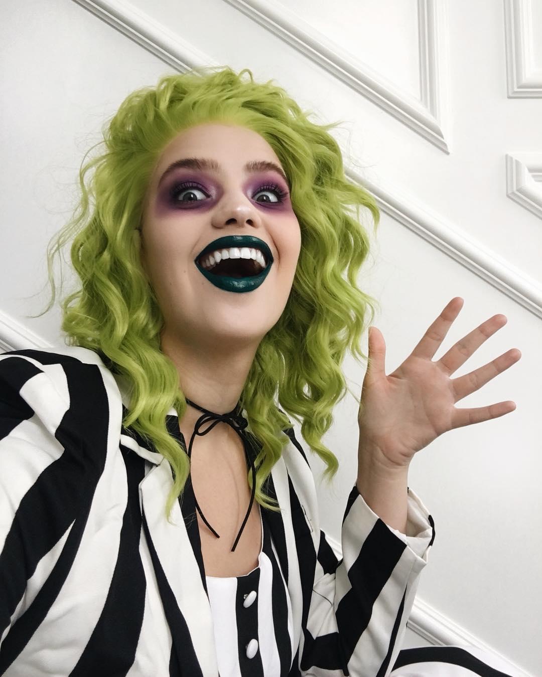 maquiagem de Halloween 9
