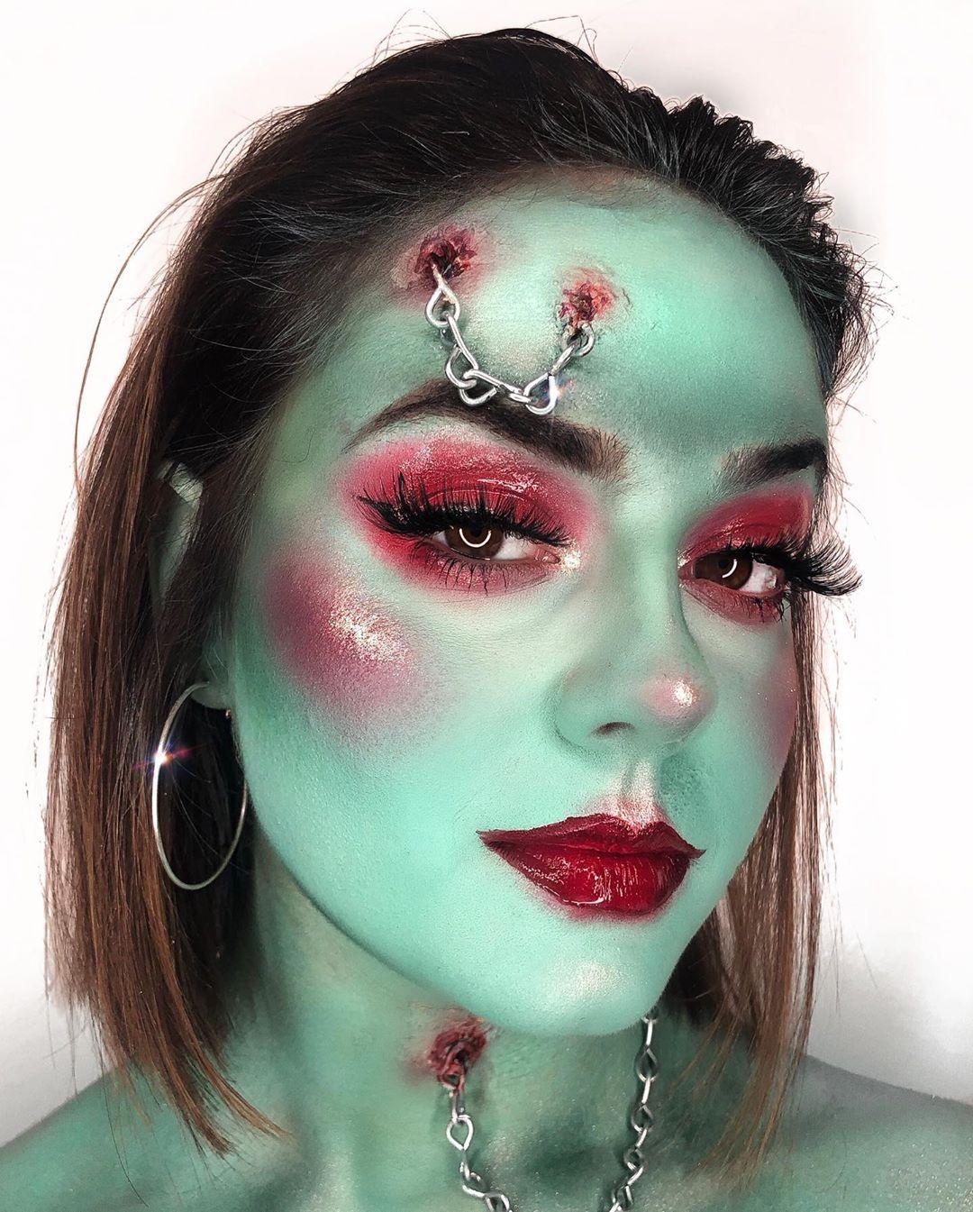 maquiagem de Halloween 74