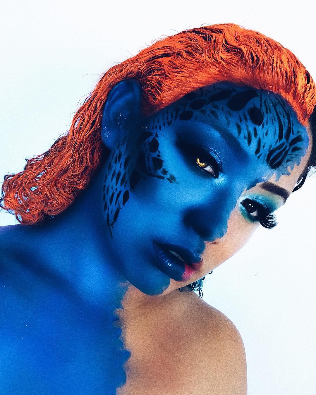 maquiagem de Halloween 39