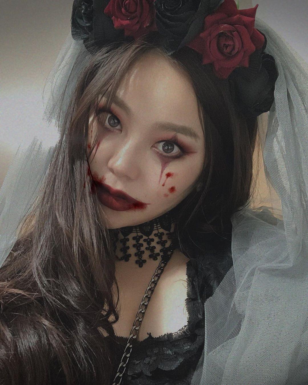 maquiagem de Halloween 72