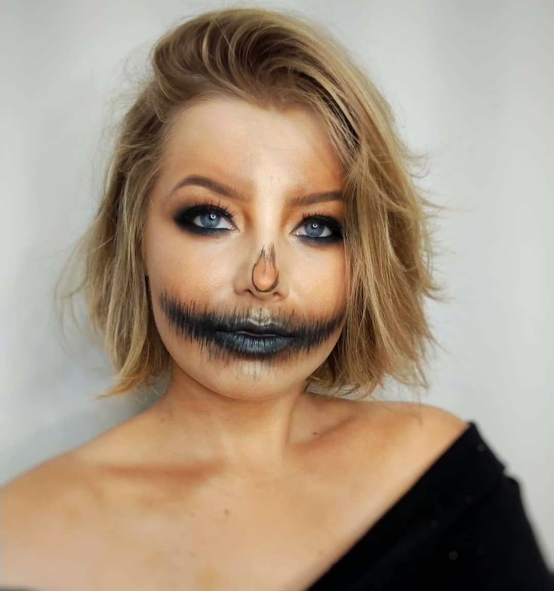 maquiagem de Halloween 81